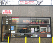 Pizza Corner Entrance